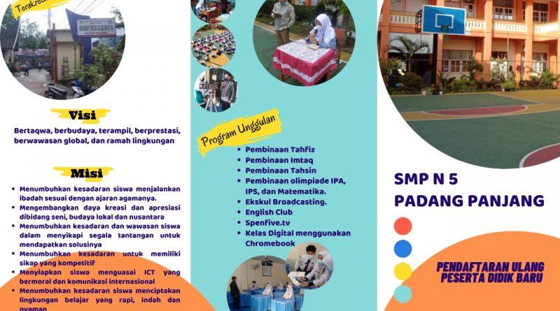 PPDB SMPN 5 PADANG PANJANG